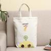 原创时尚帆布包单肩包可爱小清新布袋便携折叠环保袋购物袋