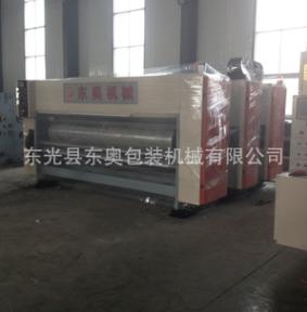 印刷机械纸箱印刷机半自动三色水墨印刷开槽机