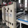 纸箱印刷机械半自动双色水墨印刷圆压圆模切机飞机盒设备