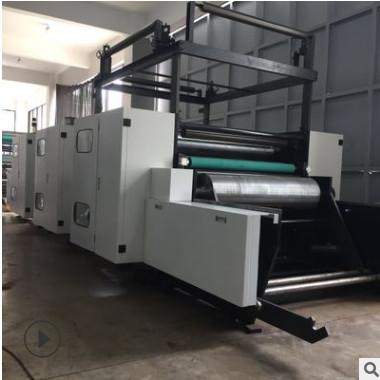 JCJZ 六色机组式高速高清柔版印刷机 科赛套色系统 无纺布印刷机