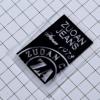 供应丝网印刷环保透气TPU 户外商标环保商标服装辅料