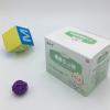 小儿贴包装白卡纸彩盒定制加工扣底盒可设计印刷