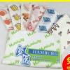 厂家生产 防粘淋膜纸 汉堡包装纸 汉堡包包装纸支持定制印制log