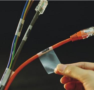 pi高温线缆标签 A4线缆标签不干胶 电线标签定做