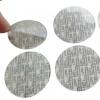 不干胶标签圆点标签纸包装封口贴纸塑料 封口不干胶标签定做