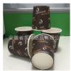 一次性纸杯6oz现货热饮冷饮纸杯两用6盎司180毫升厂家直销