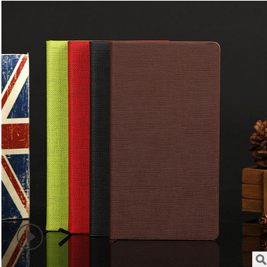直销生产环保彩色亚麻纹平装办公笔记本 多规格记事本可定制logo