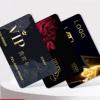 会员卡定制制作vip卡积分卡贵宾卡PVC卡定做美容院店磁条