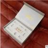 广州厂家直销 专业定制 拉丝金书型盒 化妆品包装盒 简约时尚
