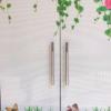 UV打印单透玻璃贴膜单孔喷绘户外写真网眼透明透视贴广告地铁海报