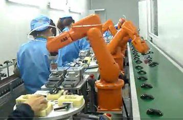 雷柏科技ABB机器人用于印刷