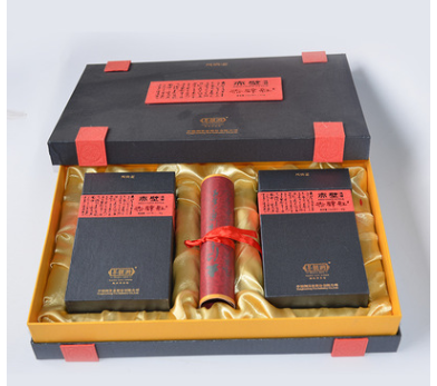 印刷包装厂家定制高档茶叶大闸蟹黑枸杞礼品盒双层抽屉式礼盒定做