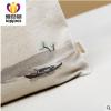 工厂货源热转印新款帆布包购物袋单肩数码印花加工帆布袋加印logo