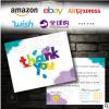 亚马逊英文售后服务卡返现卡ebay速卖通外贸感谢信评价卡定制印刷