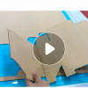 可切割瓦楞纸灰板纸布料皮革橡胶垫圈亚克力的纸箱打样切割机