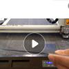 供多种铣刀可选多层切割服装模板切割机服装模板开槽机雕刻机