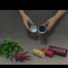 厂家订做品牌培训学校证书礼盒环保化妆品纸筒包装烫金工艺品纸罐