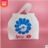 cpe束口袋 磨砂半透明购物袋 pe条手提礼品袋厂家定制塑料包装袋
