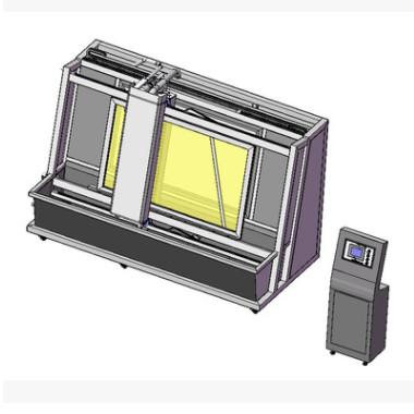 厂家定制自动网版清洗机网版自动脱膜冲洗显影机网版油墨清洗机