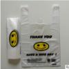 背心袋透明笑脸背心袋批发手提塑料袋礼品超市商店环保购物方便袋