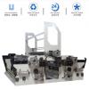 厂家直销 双剖双收全自动收卷机 打包带收卷机 薄膜边料收卷机