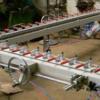 供应大型精密涡轮式拉网机绷网机