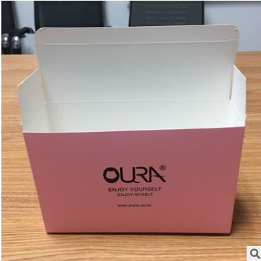 昆山包装厂家供应白卡覆哑膜纸盒 生产定制各类胶印UV印刷模切