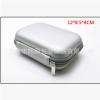 移动电源包耳机收纳盒 蓝牙耳机收纳包 充电器包 银色电源化妆包