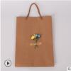现货热卖复古牛皮纸手袋可定做尺寸厂家供应定制可定制logo