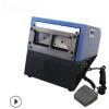 台式电动双卡冲卡机 双模具证卡冲切机覆膜机 PVC证卡双卡切卡机