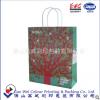 礼品广告包装袋定做 白牛皮纸手提环保纸袋 胶印服装礼品手提袋