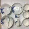 YT-青花瓷28头套装陶瓷碗盘碟,餐具盘碗碟