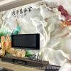 品牌厂商电视背景墙彩印机陶瓷制品印刷五色瓷砖背景uv打印机