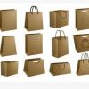 包装纸袋牛皮纸提袋生产手提纸袋定做,牛皮纸包装袋加工做手提袋