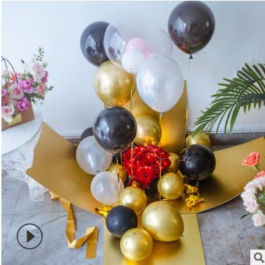 爆款现货生日礼物惊喜箱子爆炸盒情人节求婚告白惊喜盒子