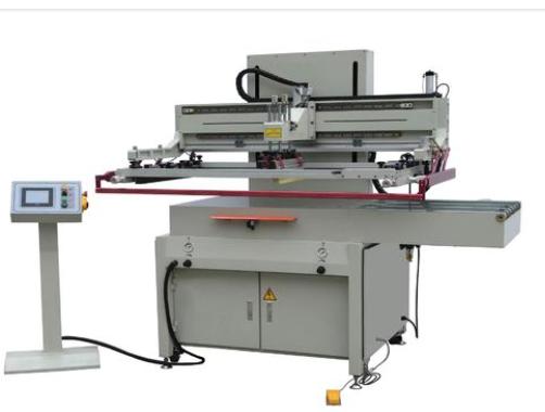 转盘式穿梭式双色油盅油盘移印机