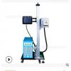 食品医药包装日期流水线在线飞行 co2二氧化碳激光打标机喷码机