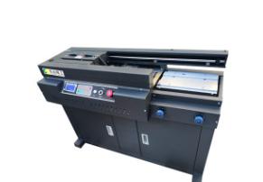 长远精工55EA3全自动无线侧胶胶装机标书图文杂志装订机胶订机