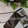 深圳厂家供应高品质PVC台卡 手机功能介绍贴 异形弯折牌