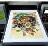 普兰特数码印花机小型数码直喷衣服t恤帆布服装图案定制3d打印机