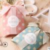 复古绿色波点精美饰品礼品枕头盒现货个性彩印韩式包装盒定做批发