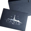 黑色信封特种珠光纸牛皮纸信封印刷定制西式中式口水胶信封生产