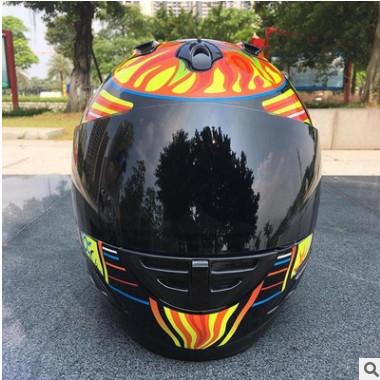 工厂定制生产摩托车头盔水贴纸 自行车头盔水转印成品加工