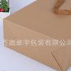 厂家定做服装购物袋 牛皮纸袋 通用空白手提礼品袋定制