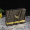 黑色天地盖化妆品包装盒定制通用护肤品药品印刷白卡纸彩盒礼品盒