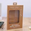 厂家直销 白盒彩盒透明 食品包装盒开窗创意纸箱瓦楞 logo定做