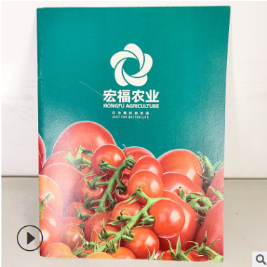 企业宣传书刊书籍画册定制 杂志产品说明书铜版纸印刷加工