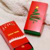 诸暨厂家直销圣诞盒礼盒装红袜内裤喜庆纸盒 现货可定制logo