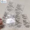 工厂直产透明小贴纸 透明不干胶 透明标签 丝印pvc透明