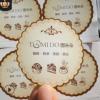 厂家定做 透明商标贴纸 彩色不干胶印刷 PVC标签 logo不干胶定制